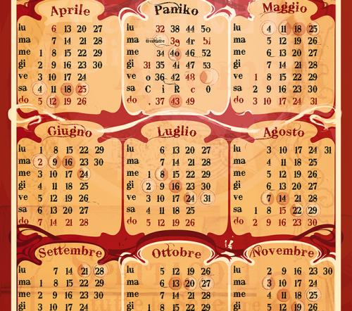 Circo Paniko | Calendario 2015