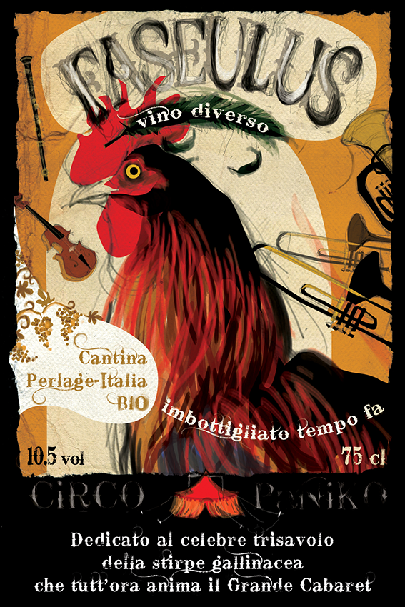 Circo Paniko | etichetta vino Faseulus 1