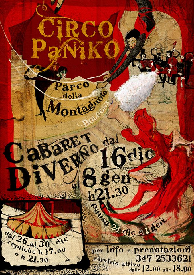 Circo Paniko | Cabaret Diverno | 2011/12