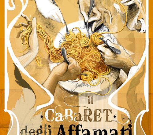 CIRCO PANIKO manifesto Cabaret degli Affamati 3