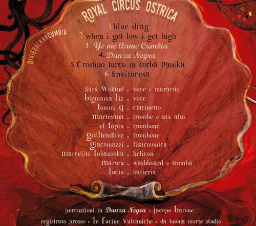 Royal Circus Ostrica | front album